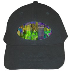 New York City Skyline Black Cap
