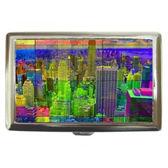 New York City Skyline Cigarette Money Cases