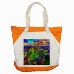 New York City Skyline Accent Tote Bag