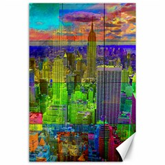 New York City Skyline Canvas 24  X 36