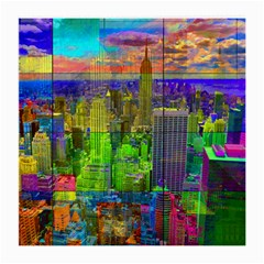 New York City Skyline Medium Glasses Cloth