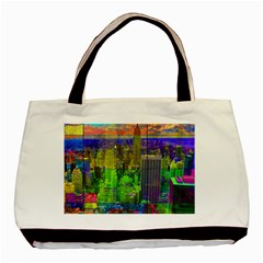 New York City Skyline Basic Tote Bag (Two Sides)
