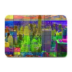 New York City Skyline Plate Mats