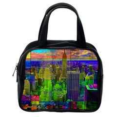 New York City Skyline Classic Handbags (one Side)