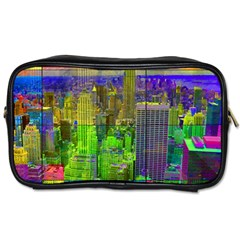 New York City Skyline Toiletries Bags 2 Side