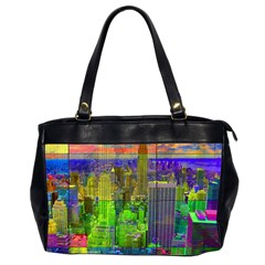 New York City Skyline Office Handbags (2 Sides)