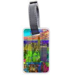 New York City Skyline Luggage Tags (two Sides)