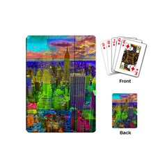 New York City Skyline Playing Cards (mini)