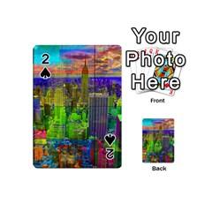 New York City Skyline Playing Cards 54 (mini)