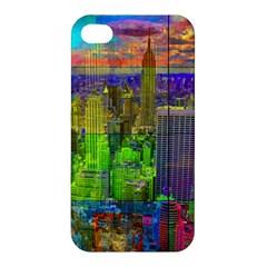 New York City Skyline Apple Iphone 4/4s Hardshell Case