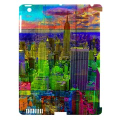 New York City Skyline Apple Ipad 3/4 Hardshell Case (compatible With Smart Cover)