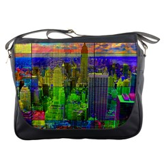 New York City Skyline Messenger Bags