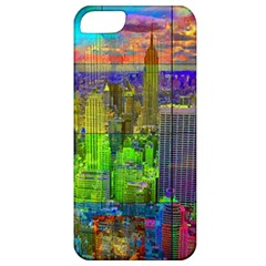 New York City Skyline Apple Iphone 5 Classic Hardshell Case