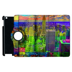 New York City Skyline Apple Ipad 3/4 Flip 360 Case