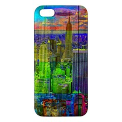 New York City Skyline Apple iPhone 5 Premium Hardshell Case