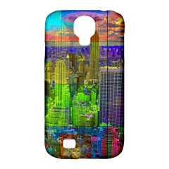 New York City Skyline Samsung Galaxy S4 Classic Hardshell Case (PC+Silicone)