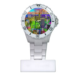 New York City Skyline Plastic Nurses Watch