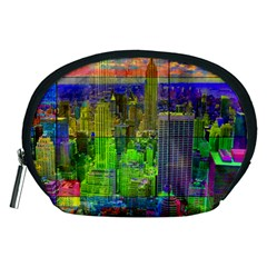 New York City Skyline Accessory Pouches (medium)