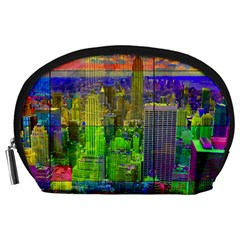 New York City Skyline Accessory Pouches (Large)