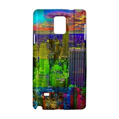 New York City Skyline Samsung Galaxy Note 4 Hardshell Case