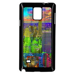 New York City Skyline Samsung Galaxy Note 4 Case (black)