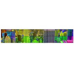 New York City Skyline Flano Scarf (large)