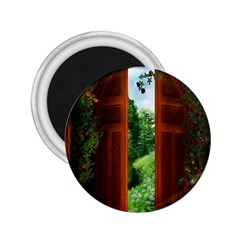 Beautiful World Entry Door Fantasy 2 25  Magnets