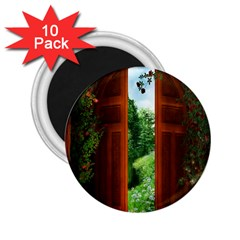 Beautiful World Entry Door Fantasy 2.25  Magnets (10 pack)