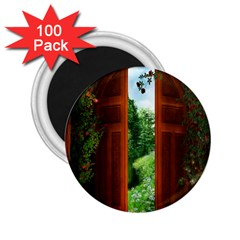 Beautiful World Entry Door Fantasy 2.25  Magnets (100 pack)