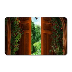 Beautiful World Entry Door Fantasy Magnet (Rectangular)