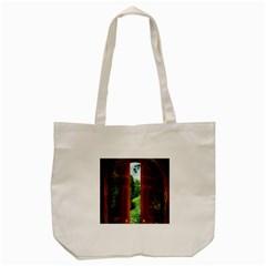 Beautiful World Entry Door Fantasy Tote Bag (cream)