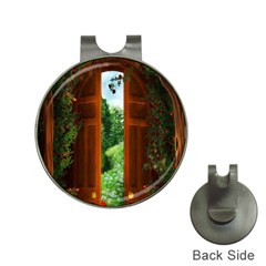 Beautiful World Entry Door Fantasy Hat Clips with Golf Markers
