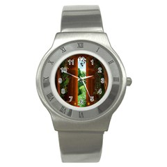 Beautiful World Entry Door Fantasy Stainless Steel Watch