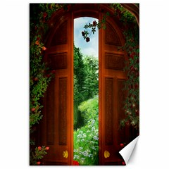 Beautiful World Entry Door Fantasy Canvas 20  X 30