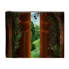Beautiful World Entry Door Fantasy Cosmetic Bag (xl)