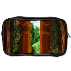Beautiful World Entry Door Fantasy Toiletries Bags 2 Side