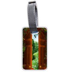 Beautiful World Entry Door Fantasy Luggage Tags (two Sides)