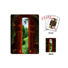 Beautiful World Entry Door Fantasy Playing Cards (mini)