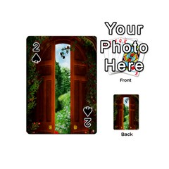 Beautiful World Entry Door Fantasy Playing Cards 54 (mini)