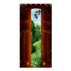 Beautiful World Entry Door Fantasy Shower Curtain 36  X 72  (stall)