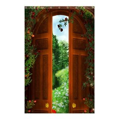 Beautiful World Entry Door Fantasy Shower Curtain 48  x 72  (Small)