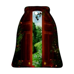 Beautiful World Entry Door Fantasy Bell Ornament (two Sides)
