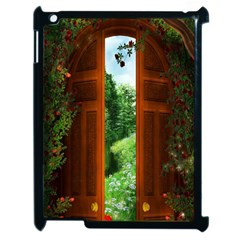 Beautiful World Entry Door Fantasy Apple iPad 2 Case (Black)