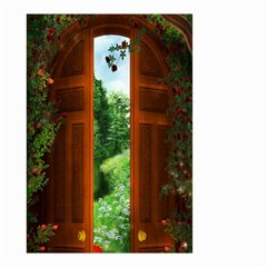 Beautiful World Entry Door Fantasy Small Garden Flag (two Sides)