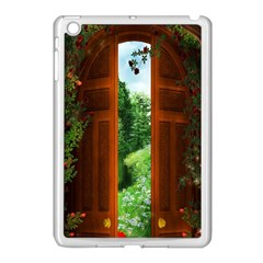 Beautiful World Entry Door Fantasy Apple Ipad Mini Case (white)