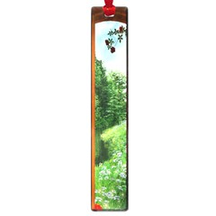 Beautiful World Entry Door Fantasy Large Book Marks