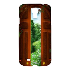 Beautiful World Entry Door Fantasy Samsung Galaxy S4 I9500/i9505 Hardshell Case
