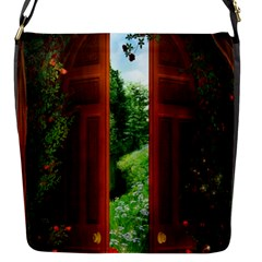 Beautiful World Entry Door Fantasy Flap Messenger Bag (s)
