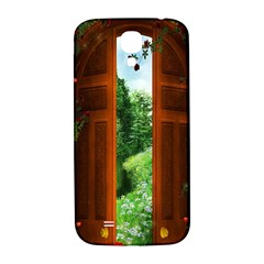 Beautiful World Entry Door Fantasy Samsung Galaxy S4 I9500/i9505  Hardshell Back Case