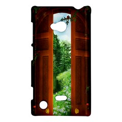 Beautiful World Entry Door Fantasy Nokia Lumia 720